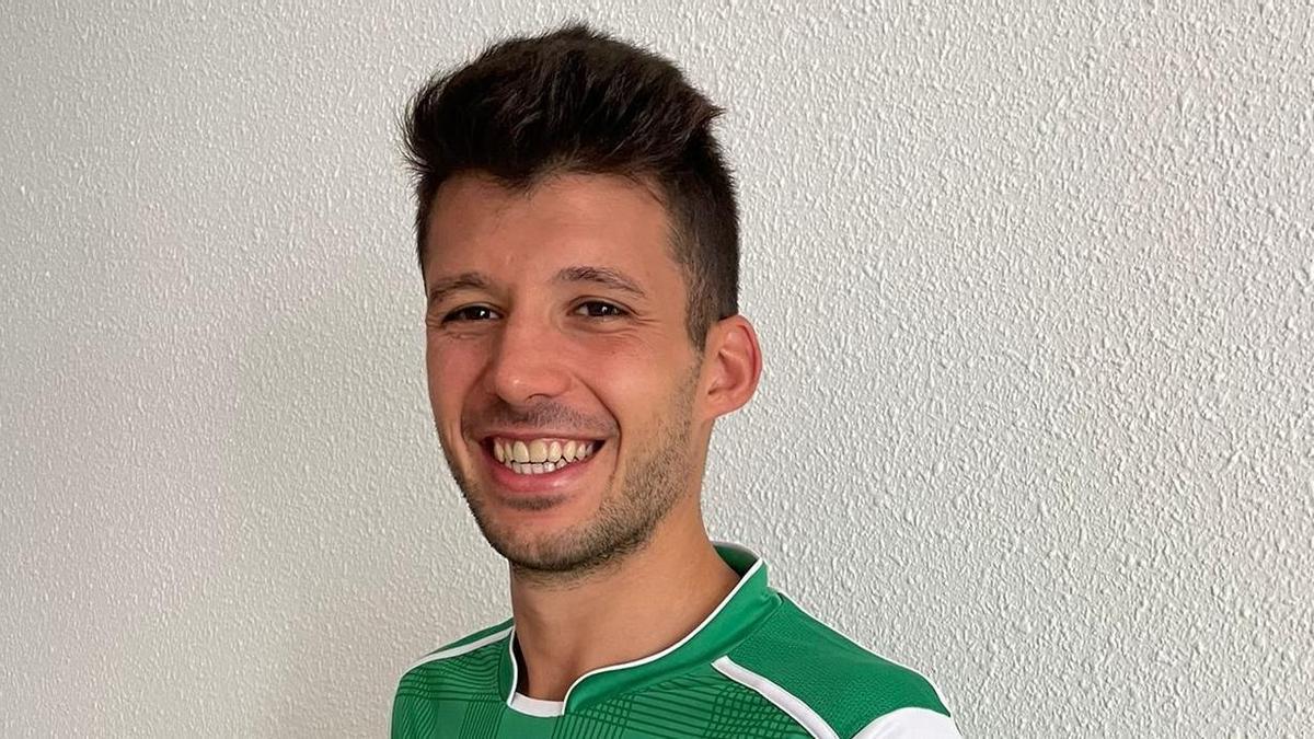 Jordi Burgaya, con la camiseta del Liceo