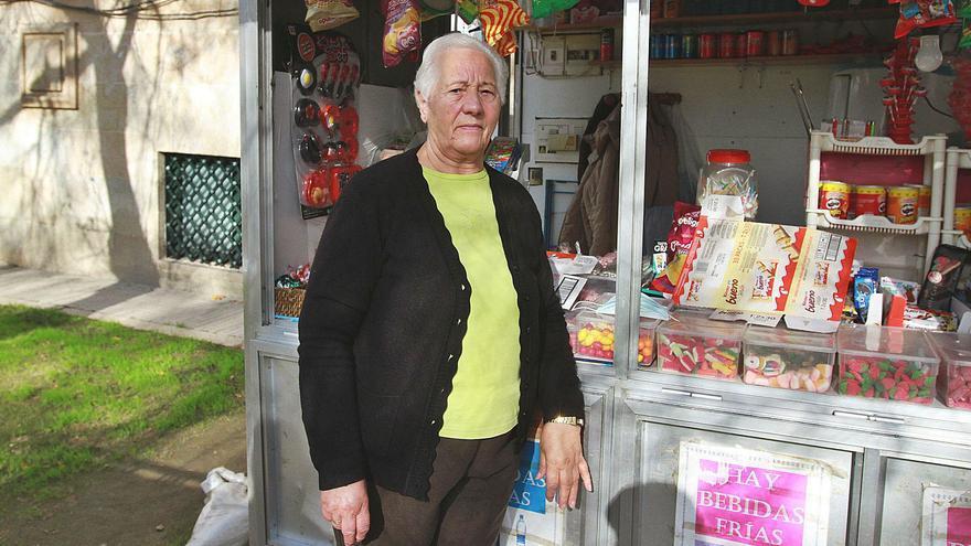 """La última kiosquera de la Alameda planea el cierre tras 38 años: """"No se vende nada"""""""