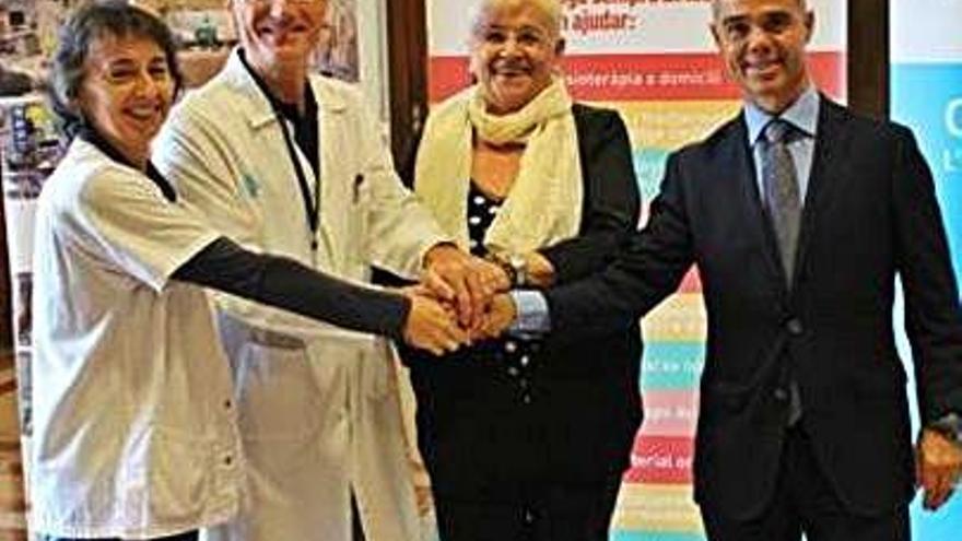 Campanya de mecenatge oberta a favor d'Oncolliga per millorar el diagnòstic de malalts atesos al Trueta