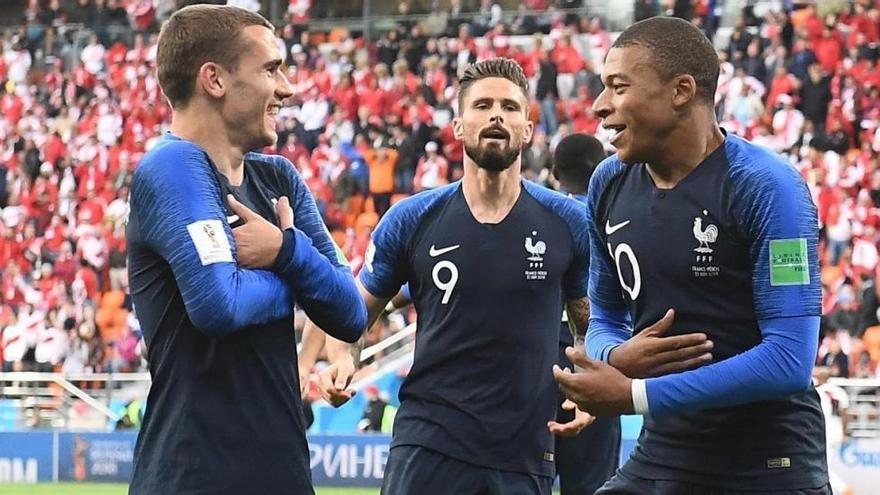 Las finales las ganan los cracks, y tienen a Griezmann y Mbappé...