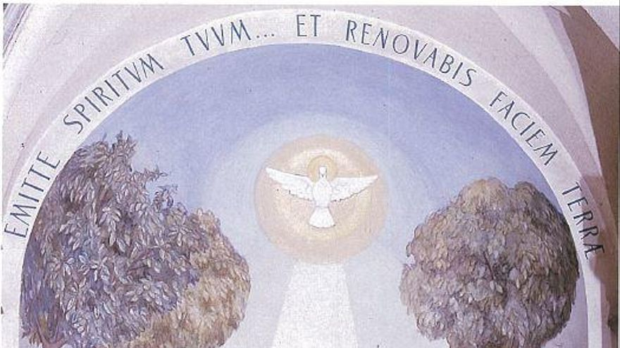 El mural ocult de Domènec Fita