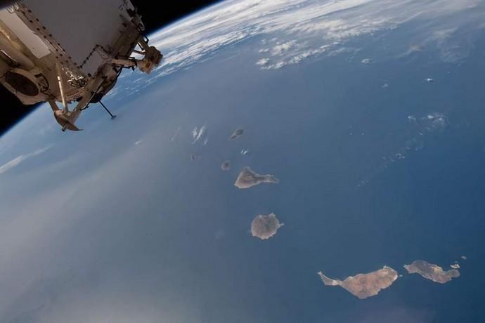 Canarias, desde el espacio