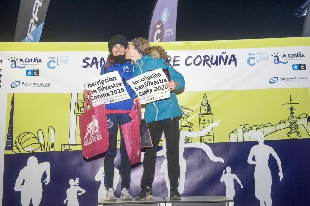 Pablo Bocelo y Deirdre Mc Dermot despiden 2019 con un triunfo en A Coruña.