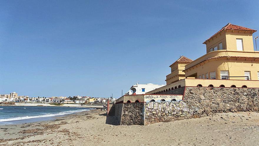 Movilización para evitar el derribo de una casa de Cabo de Palos