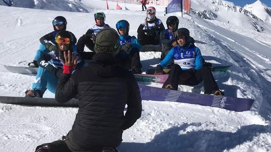 Miguel Pérez obtiene su mejor resultado internacional en la disciplina SBX