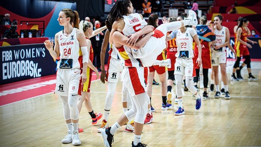 Espanya guanya amb solvència Montenegro (78-51) i ja és a quarts de final