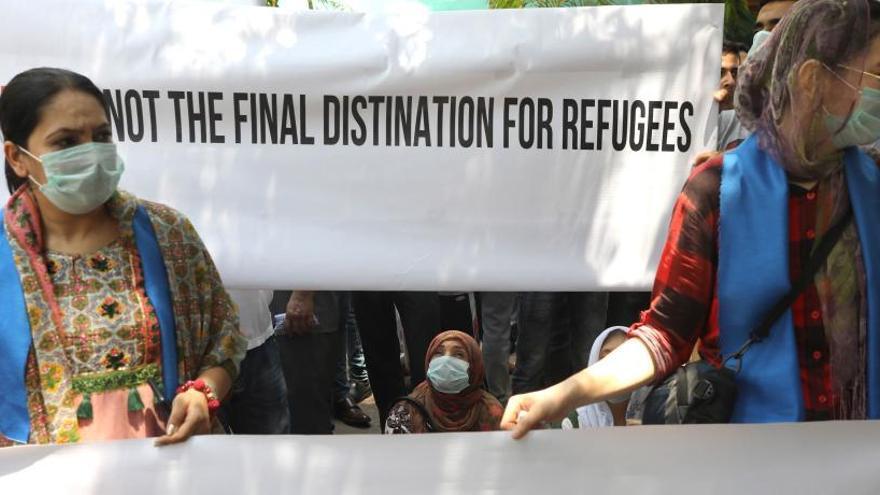 """Marie (refugiada): """"Cuatro años esperando respuesta son muchas horas de miedo"""""""