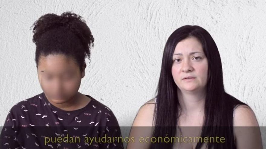 La hija de Ana Lucía pide ayuda para repatriar el cadáver en un vídeo