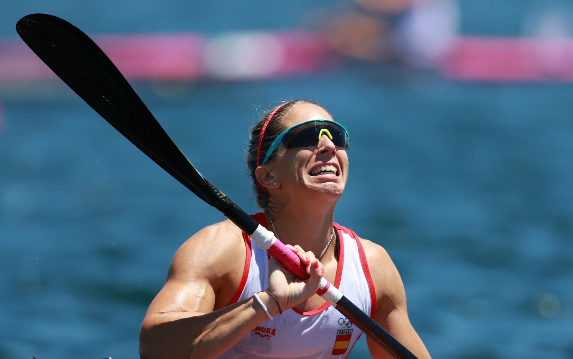 Teresa Portela alcanza la medalla de plata en el K1 200