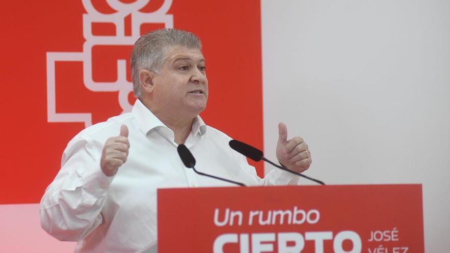 José Vélez buscará unir al partido en su candidatura a la secretaría general del PSRM