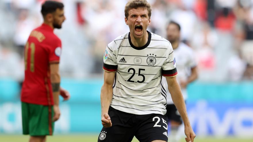 Alemania resucita y deja tocada a Portugal