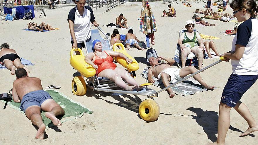 La playa es ¿para todos?
