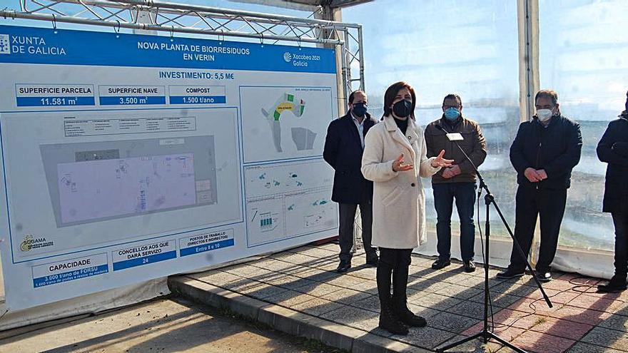 El polígono de Pazos, Verín, acogerá la cuarta planta de biorresiduos
