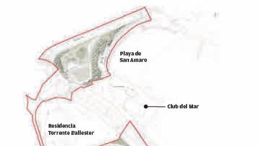 El polígono de viviendas de San Amaro arranca con el proyecto para la urbanización de la zona