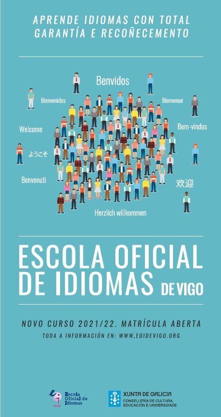 Cartel publicitario de la EOI.
