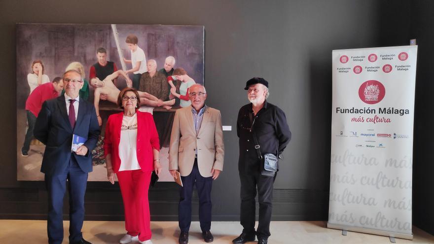 La Fundación Málaga y UNIA inauguran la exposición 'Soledad Fernández. Homenaje a Van der Weyden'