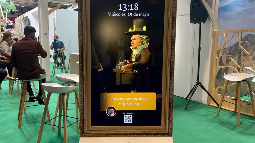 Goya vuelve a la vida en forma de asistente virtual en Fitur
