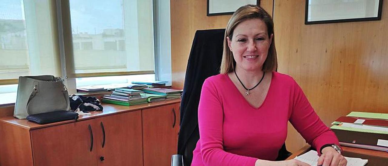 La consellera de Bienestar Social, Carolina Escandell.   DI