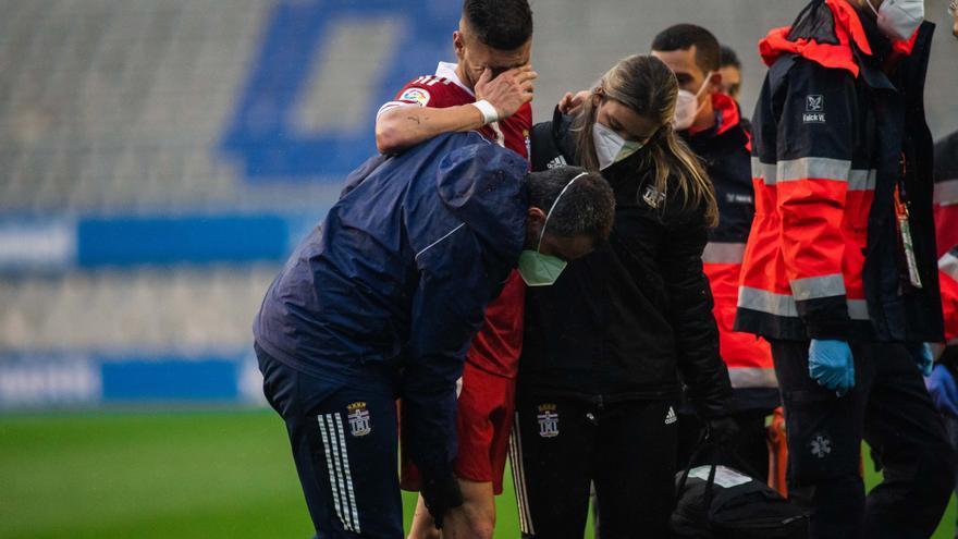 El FC Cartagena pierde a Cristian López para lo que resta de temporada