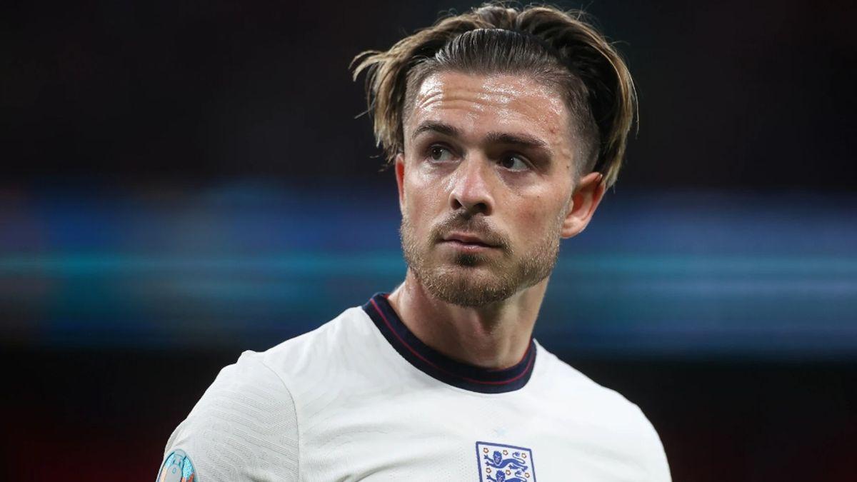 Jack Grealish, con Inglaterra, en la pasada Eurocopa.