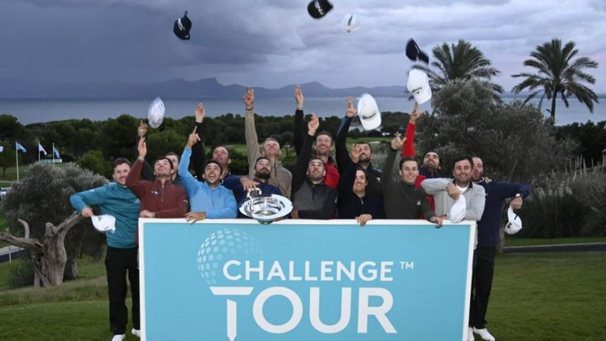 "Italiener Francesco Laporta gewinnt Golf-Turnier ""Road to Mallorca"""
