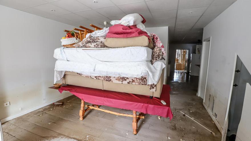 """La tragedia tras la gota fría: """"Con 800 euros de pensión nunca recuperaré lo perdido"""""""