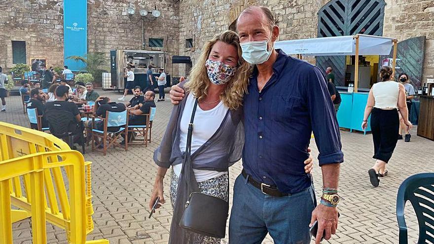 Kyril y Rosario Nadal coinciden en Ses Voltes