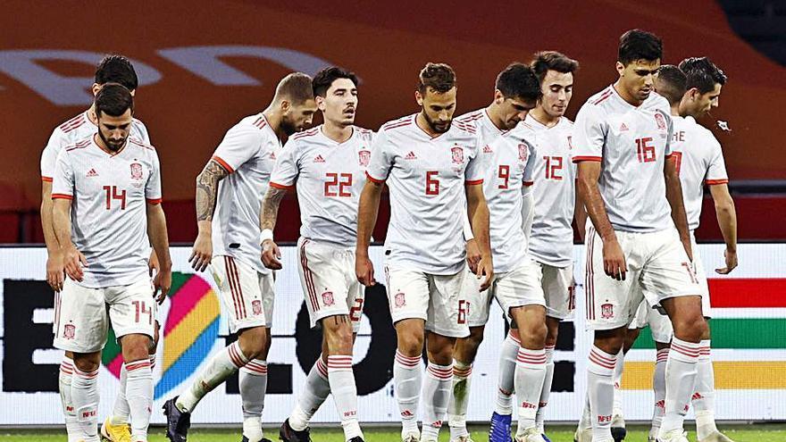 España inicia la fase clave  de la Liga de las Naciones