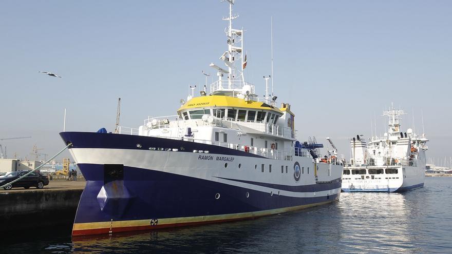 Un buque vigués estudiará en La Palma los efectos de las coladas en el mar