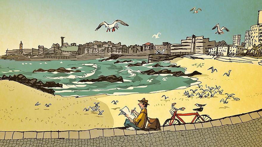 A Coruña, sentida y dibujada