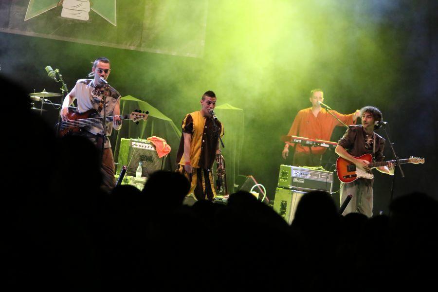 Concierto de La Raíz en Zamora