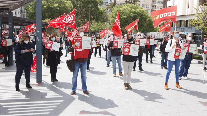 Los sindicatos salen a la calle para exigir la subida del salario mínimo y la derogación de la reforma laboral