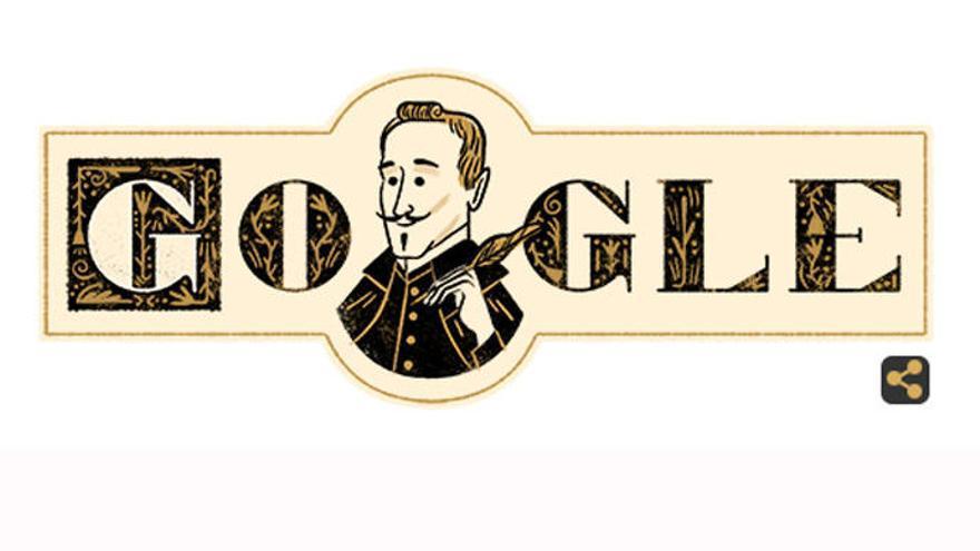 Lope de Vega, en el 'doodle' de Google