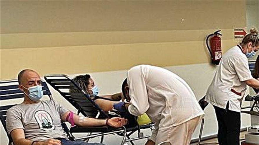 Nou rècord de donacions de sang durant la campanya del mes de juliol a Blanes