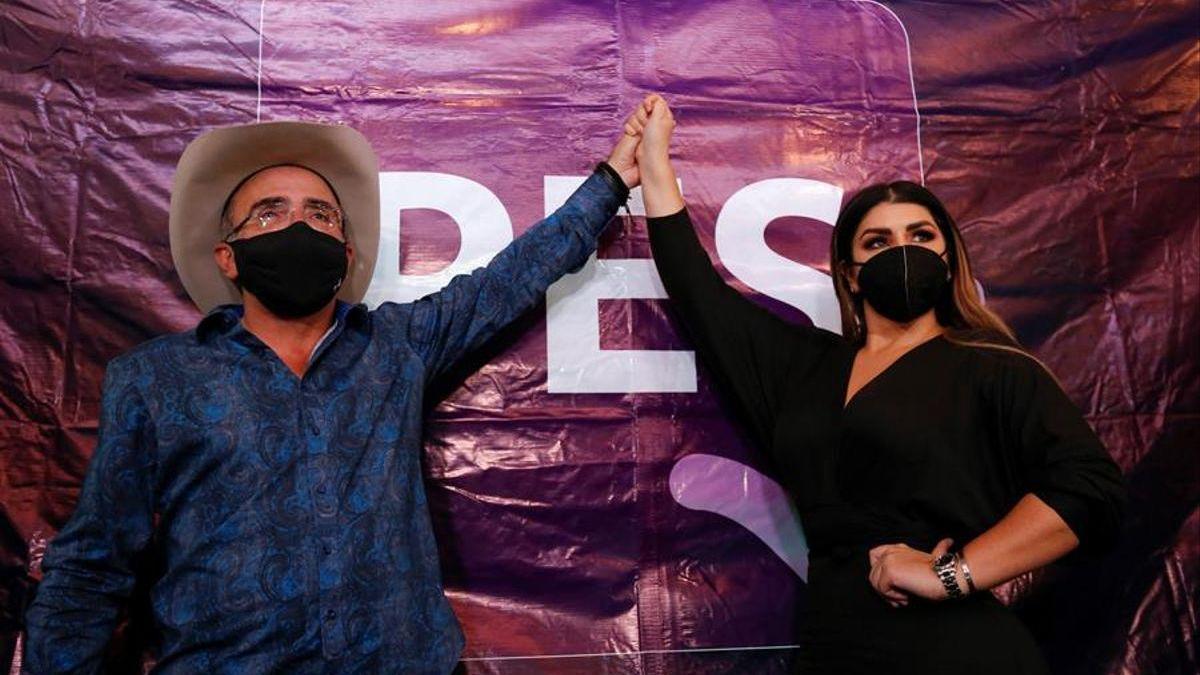 Vicente Fernández Jr. anuncia su candidatura a diputado en México