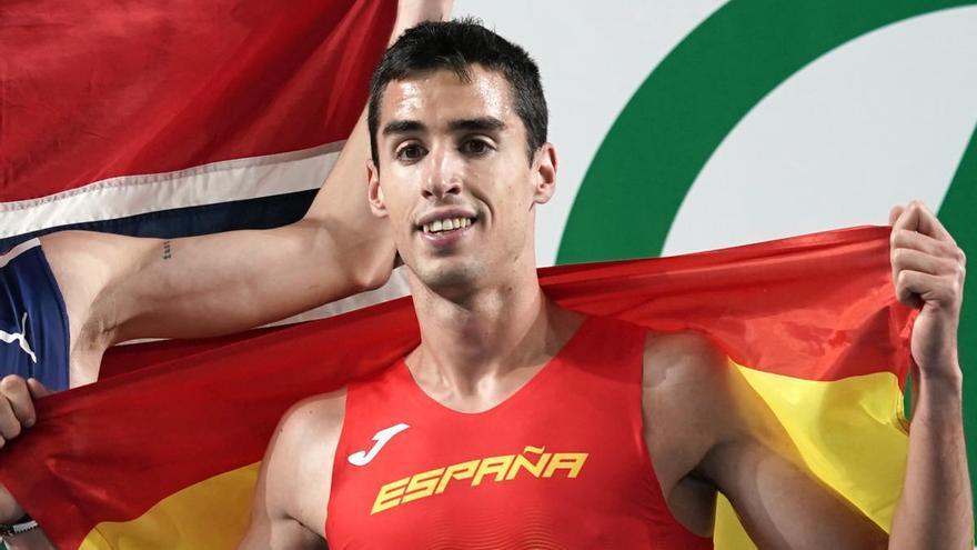 Plata para Jesús Gómez y bronce para Fontes en el 1.500 del Europeo de pista cubierta
