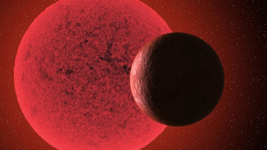 Descubierta una nueva supertierra alrededor de una estrella enana roja