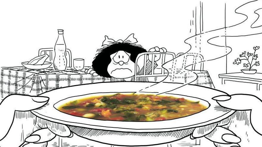 Sin ánimo de molestar a Mafalda