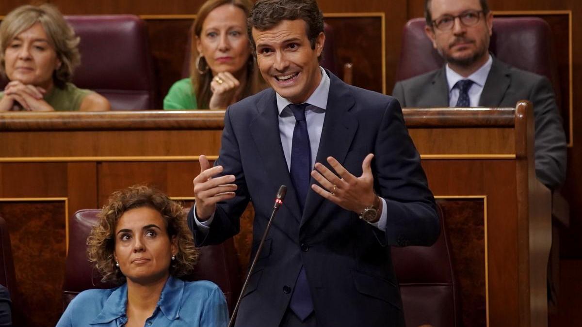 Casado acusa a Delgado de mentir sobre Villarejo y le reclama explicaciones