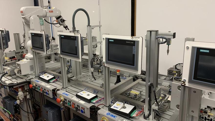 A Paralaia estreáse en FP Dual cun ciclo de Automatización e Robótica