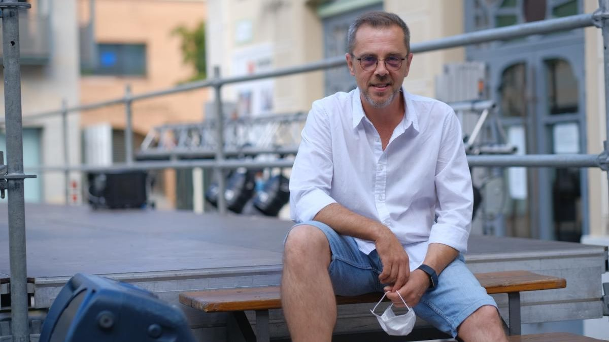El regidor de cultura, Alfons Martínez