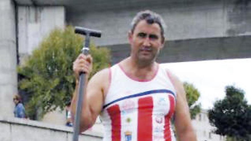 Enrique Míguez, candidato al Salón de la Fama de piragüismo