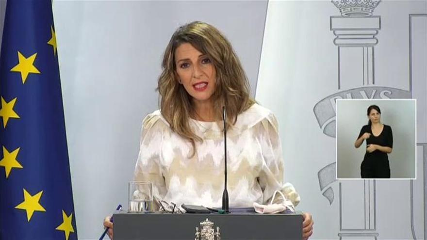 El Gobierno aprueba la ampliación de los ERTE hasta el 31 de enero