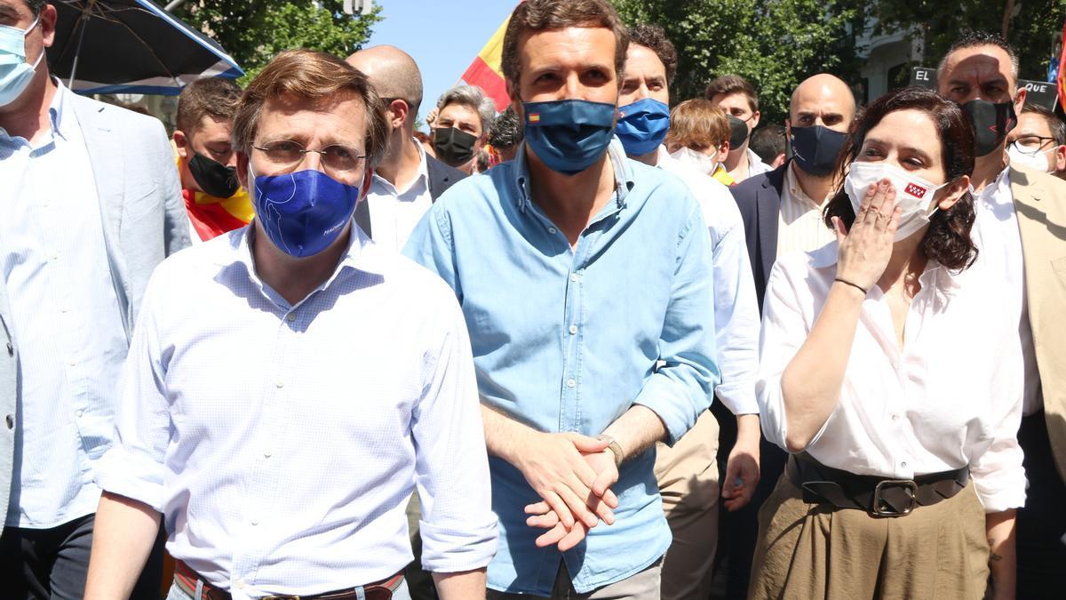Las derechas se unen contra Sánchez y los indultos en Colón