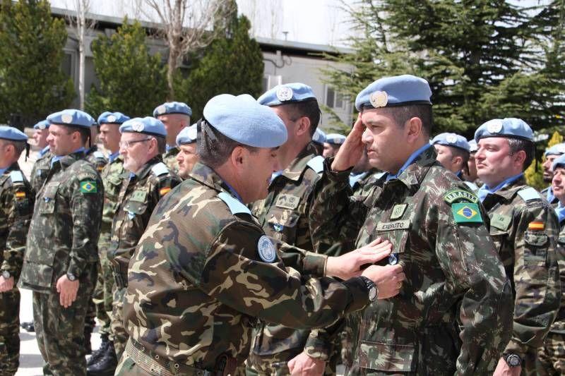 FOTOGALERÍA / Imposición de medallas de la ONU en Base Cervantes