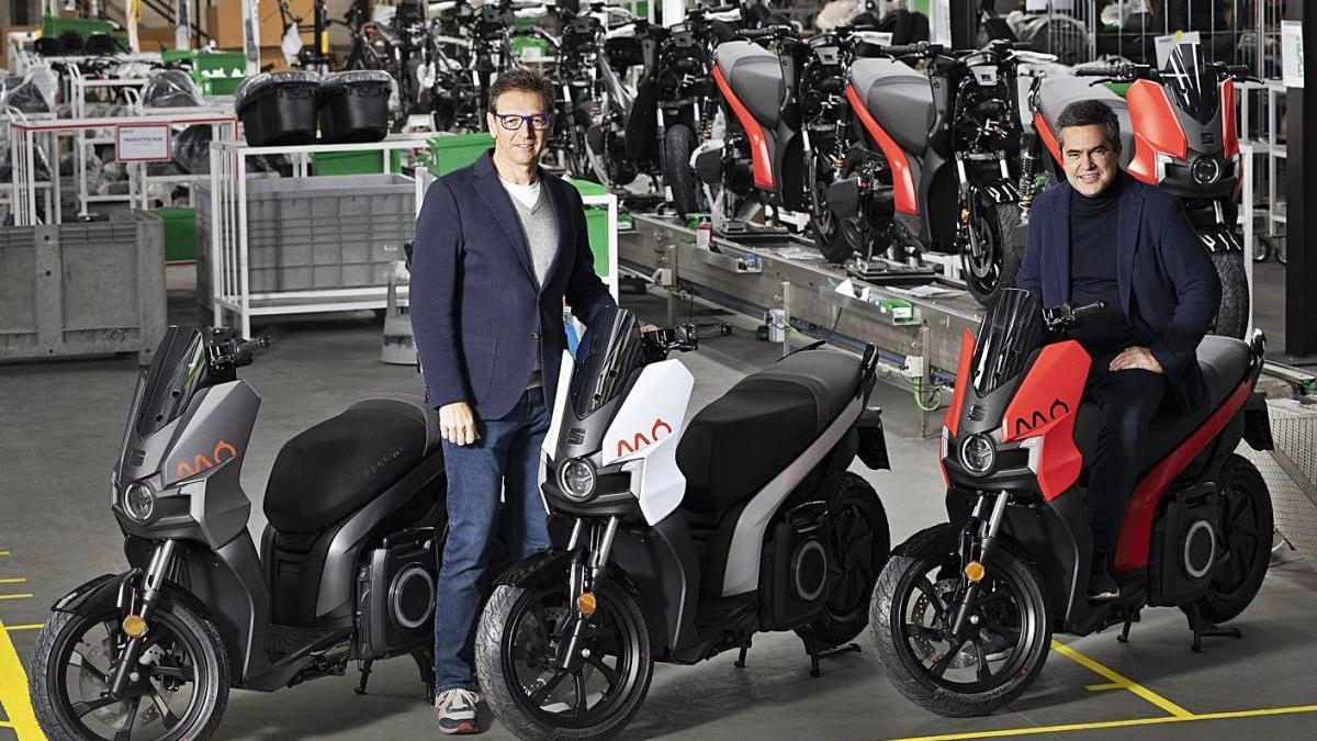 Seat inicia la produccióde la seva primera moto elèctrica, MÓ eScooter 125