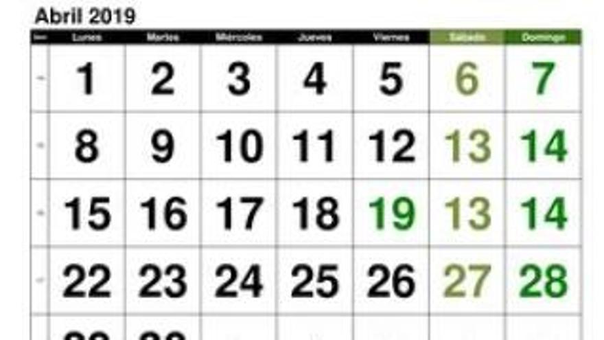Este es el calendario de abril del Levante UD