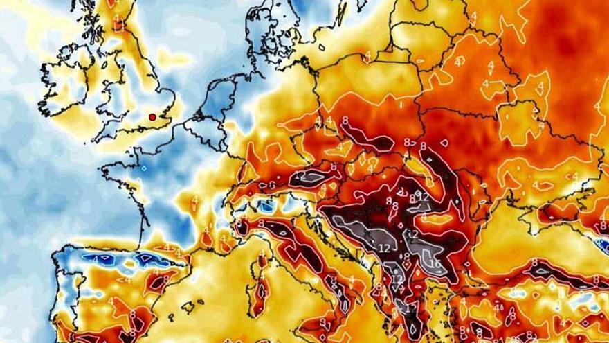 El calor no toca techo en la Región de Murcia