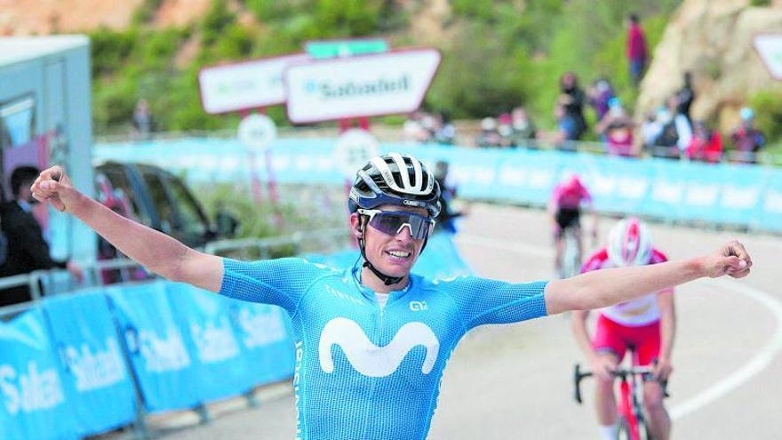 Enric Mas gana la etapa reina  y se pone líder