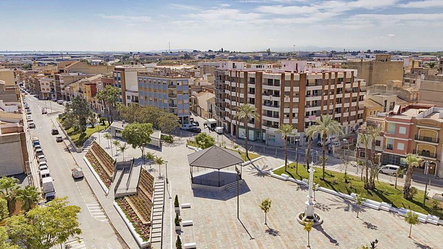 Los fondos Feder posibilitan la remodelación de la plaza de la Ermita